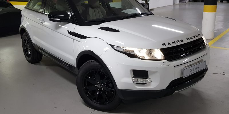 Range Rover Evoque Pure Tech Coupé 2013/2013